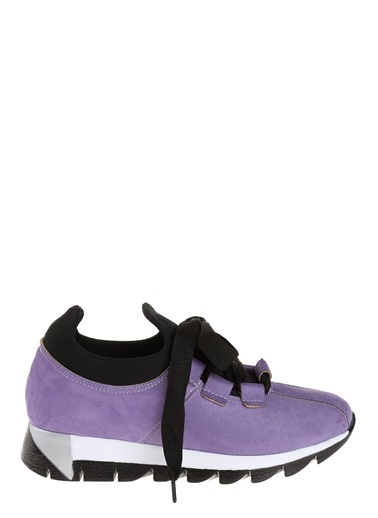 Derigo Bağcıklı Ayakkabı Mor